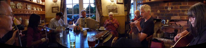 Celtic Session, The George, Molash, 2009-07-15