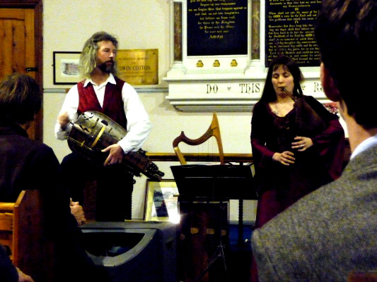 Hurdy-gurdies, pipes and more, a really interesting concert.